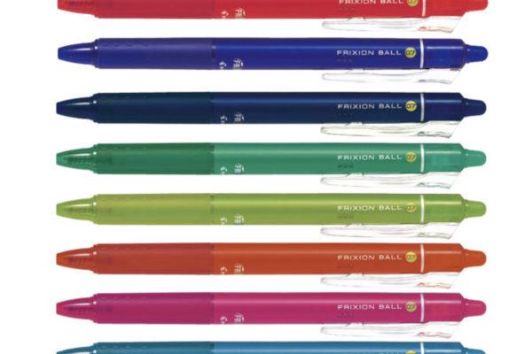 教養堂のおすすめ勉強アイテム④ 『フリクションボールペン』